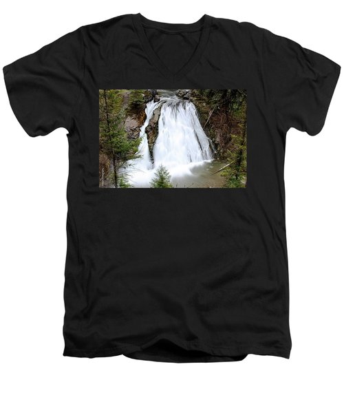 Douglas Falls  Men's V-Neck T-Shirt