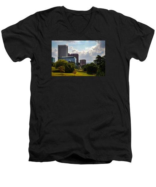 Downtown Beauty Men's V-Neck T-Shirt