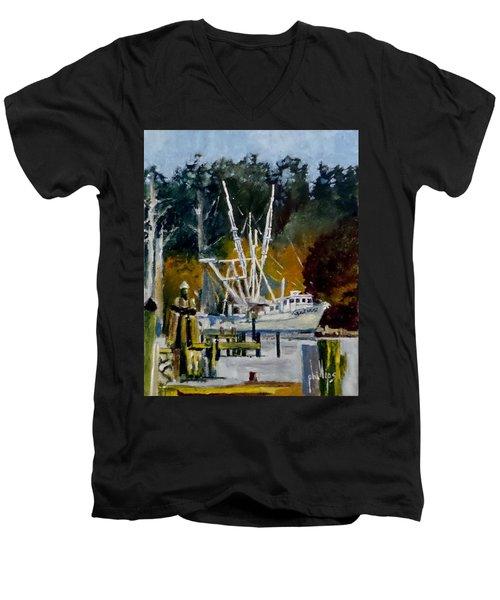 Downtown Parking Men's V-Neck T-Shirt