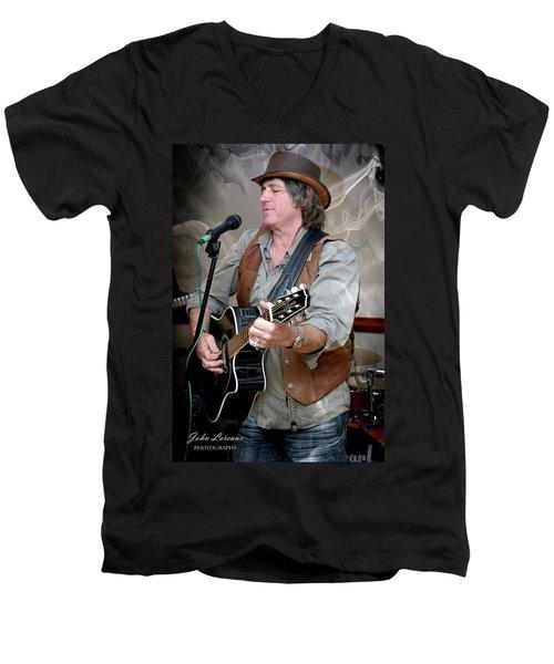 Dr. Phil Men's V-Neck T-Shirt by John Loreaux