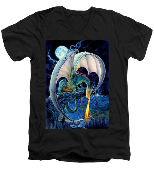 Dragon Causeway Men's V-Neck T-Shirt