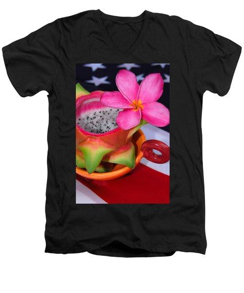 Dragon Fruit Men's V-Neck T-Shirt