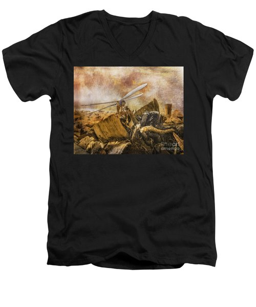 Dragonfly Dreams Men's V-Neck T-Shirt