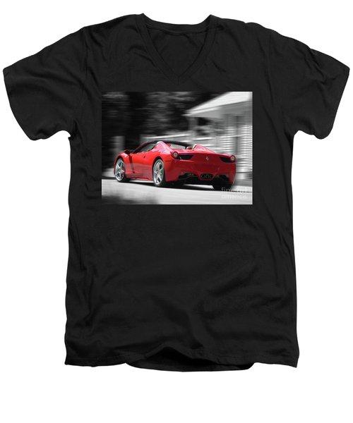 Dream Car Men's V-Neck T-Shirt by Susan Lafleur