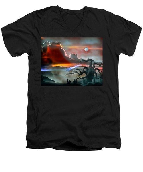 Dream Visions Men's V-Neck T-Shirt