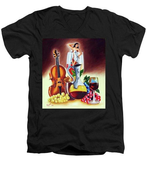 Dream World Men's V-Neck T-Shirt
