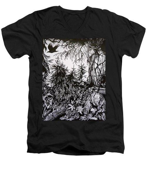 Dreaming Alaska.part One Men's V-Neck T-Shirt