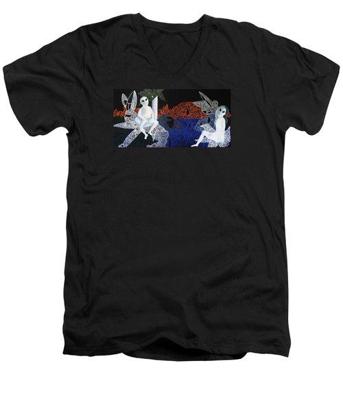 Dreams Of Broken Dolls Men's V-Neck T-Shirt