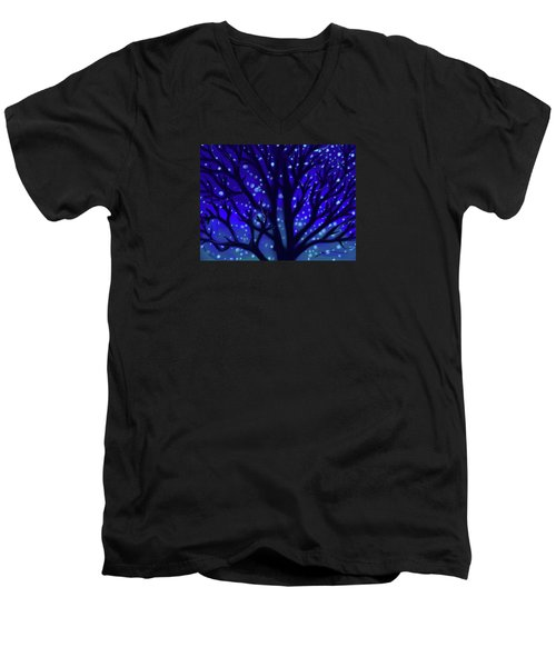 Dreams Of Needham Men's V-Neck T-Shirt