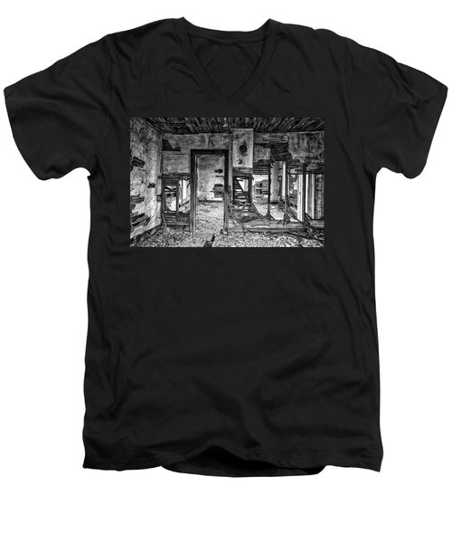 Men's V-Neck T-Shirt featuring the photograph Dreams Of The Past by Darren White