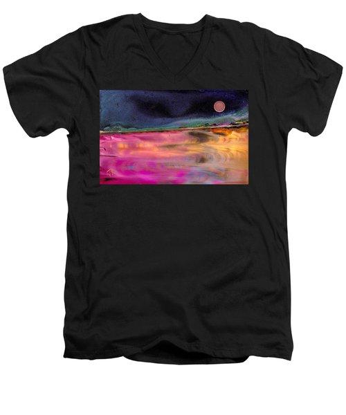 Dreamscape No. 684 Men's V-Neck T-Shirt