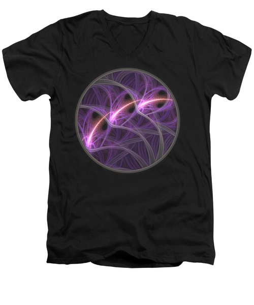 Men's V-Neck T-Shirt featuring the digital art Dreamstate by Lyle Hatch