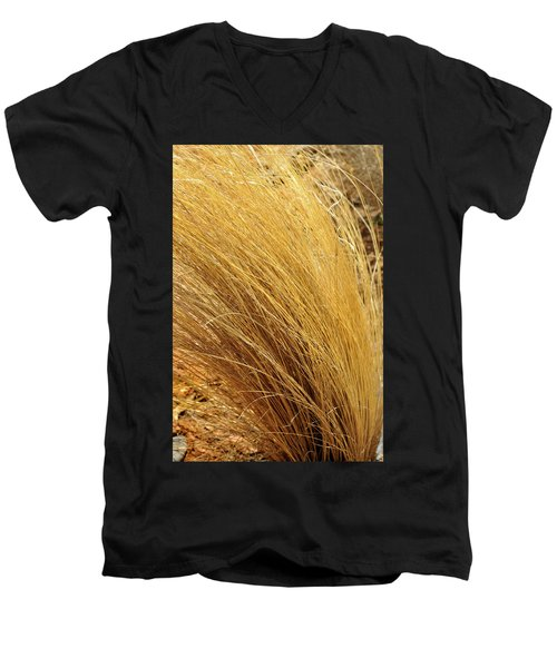 Dried Grass Men's V-Neck T-Shirt
