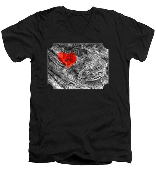 Drifting - Love Merging Men's V-Neck T-Shirt by Gill Billington