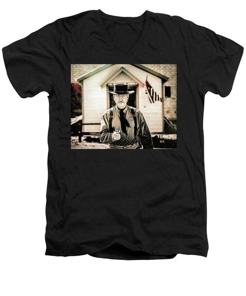 Driftwood Kid Men's V-Neck T-Shirt