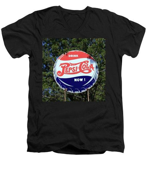 Drink Pepsi - Cola Now  Men's V-Neck T-Shirt