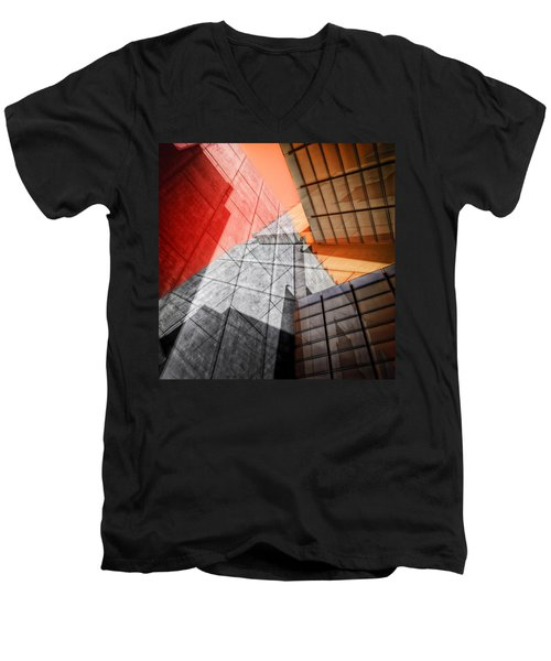 Driven To Abstraction Men's V-Neck T-Shirt