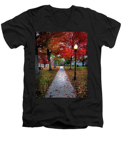 Drury Fall Men's V-Neck T-Shirt