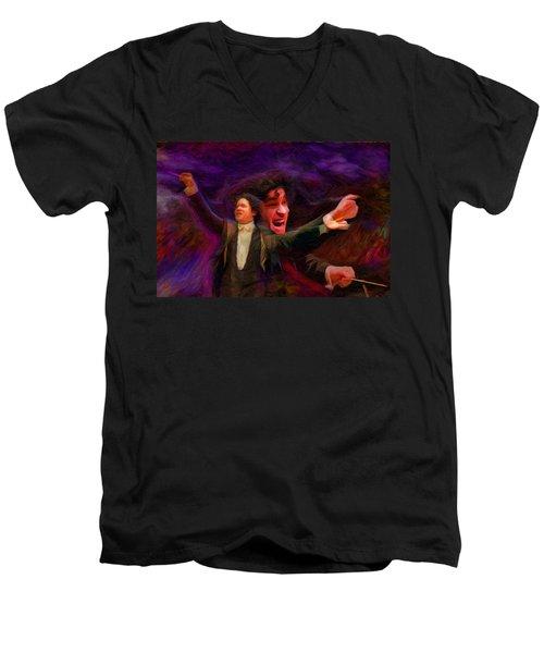 Dudamel Men's V-Neck T-Shirt