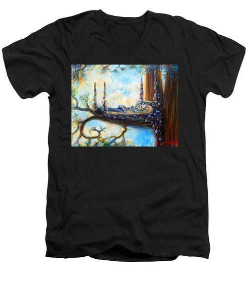 Duermase Men's V-Neck T-Shirt