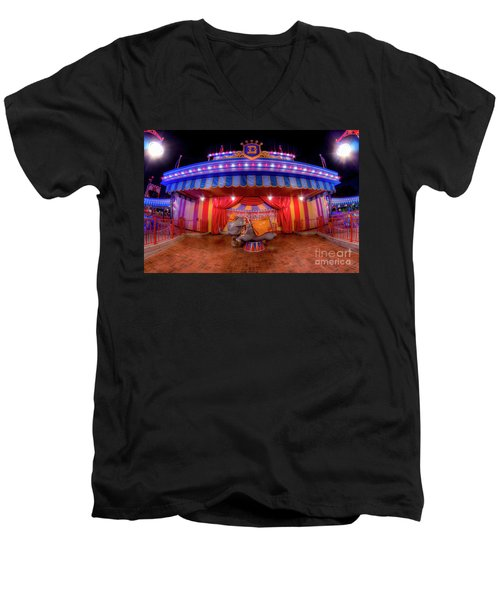 Dumbos Adventures Men's V-Neck T-Shirt