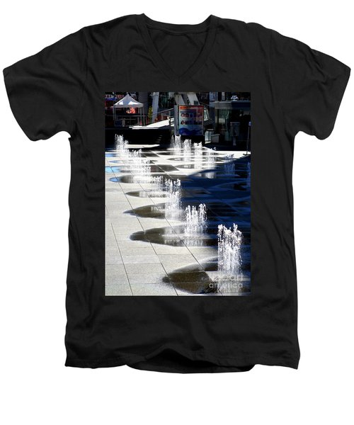 Dundas Square 1 Men's V-Neck T-Shirt