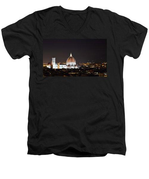 Duomo Illuminated Men's V-Neck T-Shirt