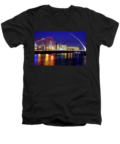 Dusk In Dublin Men's V-Neck T-Shirt
