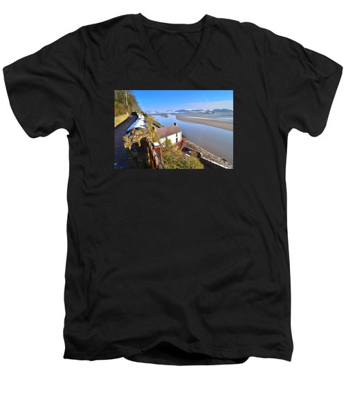 Dylan Thomas Boathouse 2 Men's V-Neck T-Shirt
