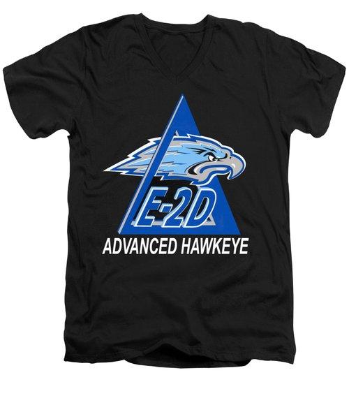 E-2d Advanced Hawkeye Men's V-Neck T-Shirt