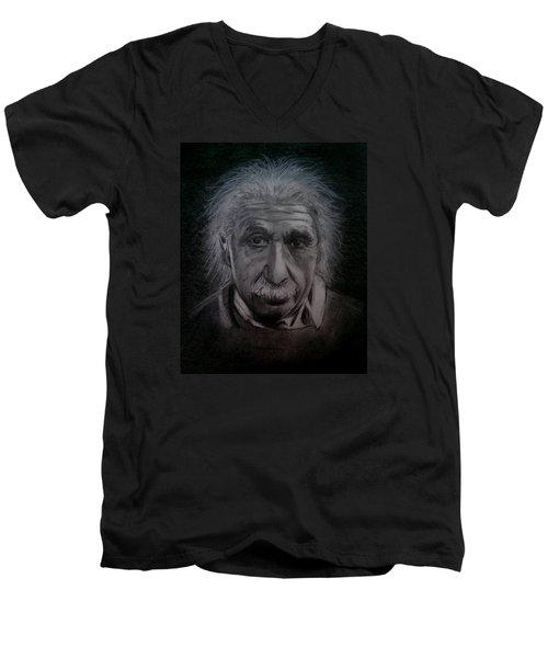 E Mc2 Men's V-Neck T-Shirt