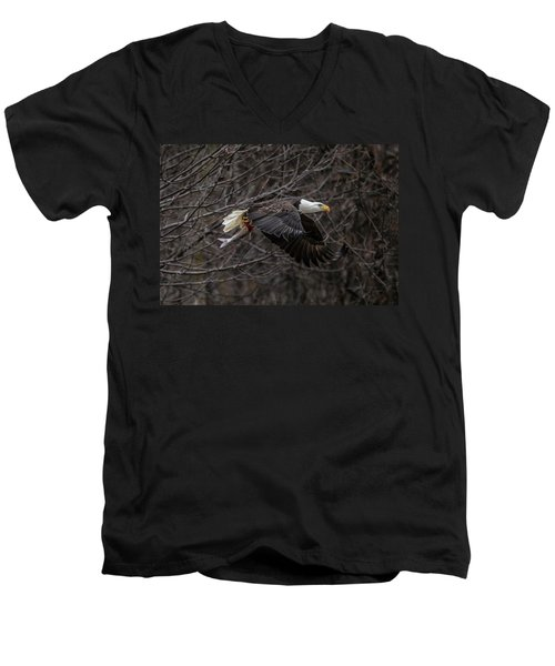Eagle Fisher Men's V-Neck T-Shirt