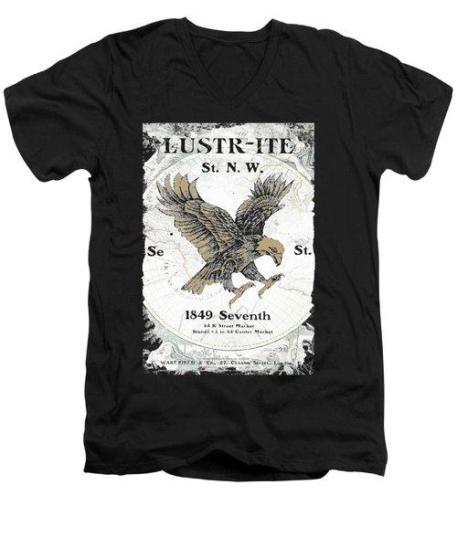 Eagle Flag Men's V-Neck T-Shirt