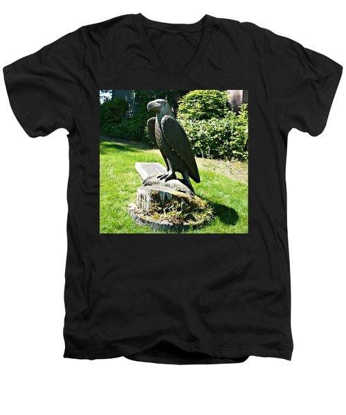 Eagle Totem Men's V-Neck T-Shirt
