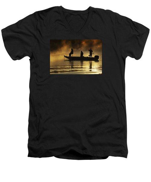 Early Casting Call Men's V-Neck T-Shirt