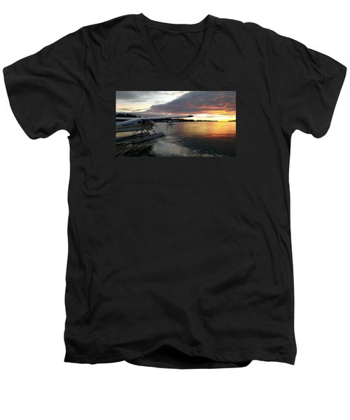 Early Departures Men's V-Neck T-Shirt