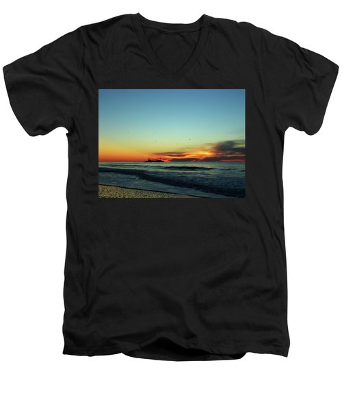 Early Start  Men's V-Neck T-Shirt