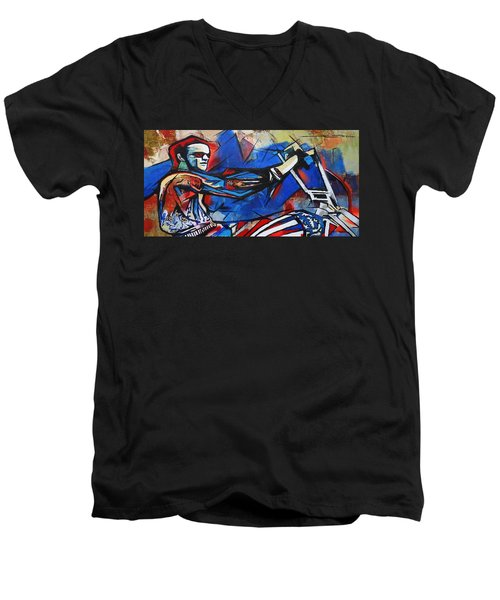 Easy Rider Captain America Men's V-Neck T-Shirt