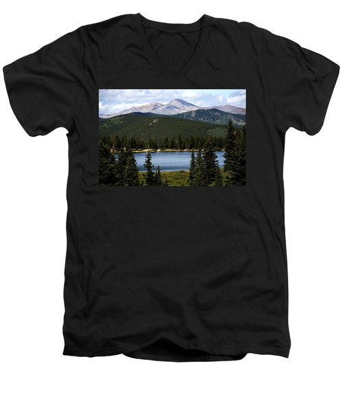 Echo Lake Colorado Men's V-Neck T-Shirt