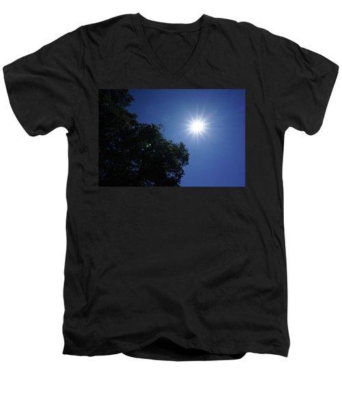 Eclipse Light Prism Men's V-Neck T-Shirt