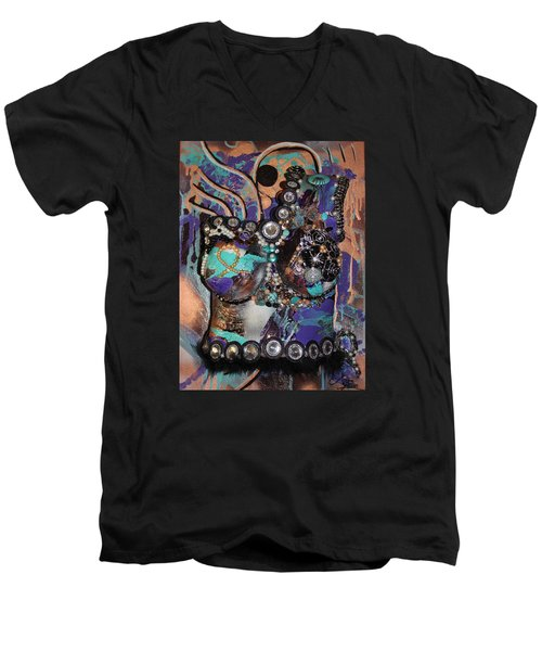 Eden - Dance And Move The World Survivor Men's V-Neck T-Shirt
