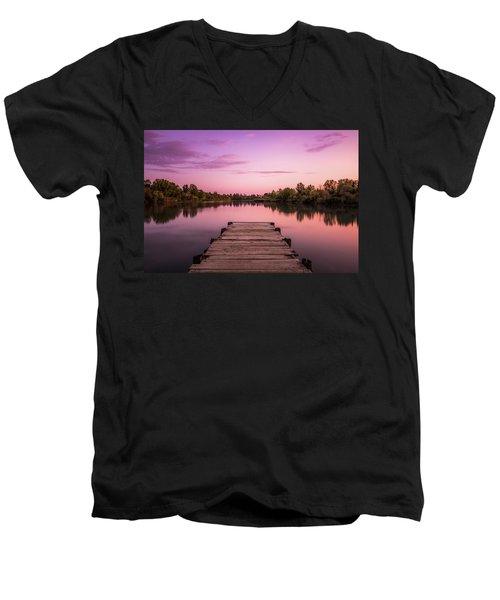 Edge Of The Mirror Men's V-Neck T-Shirt