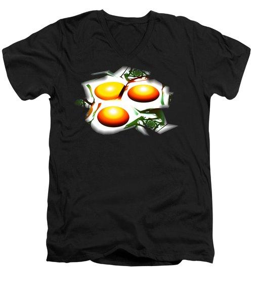 Eggs For Breakfast Men's V-Neck T-Shirt