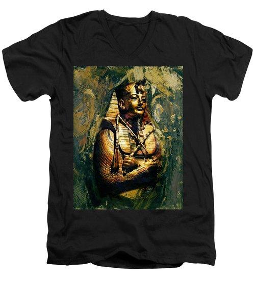Egyptian Culture 3b Men's V-Neck T-Shirt