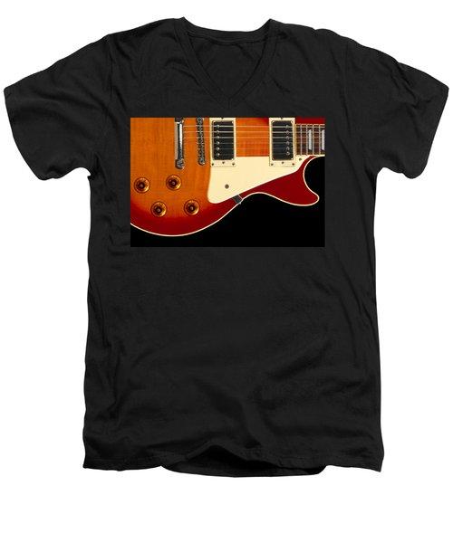 Electric Guitar 4 Men's V-Neck T-Shirt