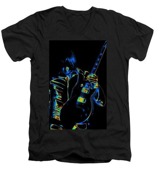 Electric Scholz Men's V-Neck T-Shirt