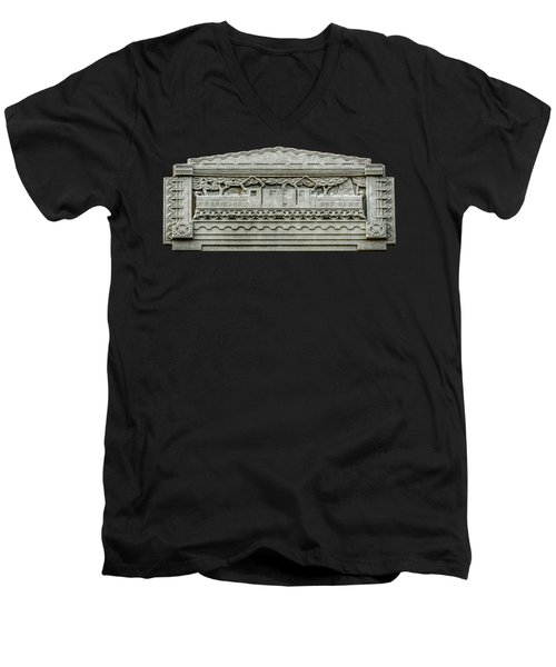 Electricity And Stone Men's V-Neck T-Shirt
