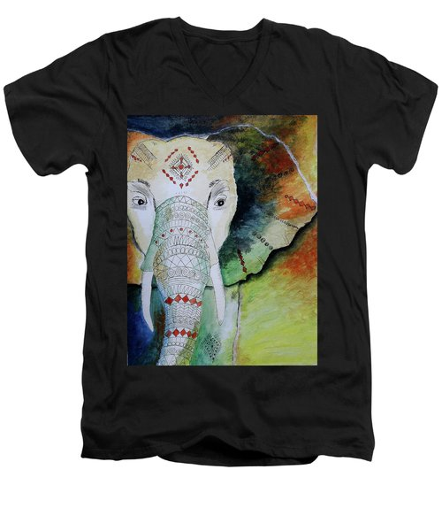 Elephantastic Men's V-Neck T-Shirt