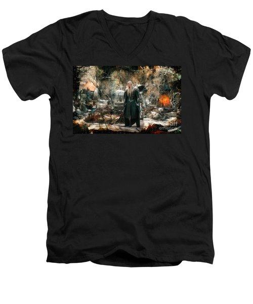 Elf King Thranduil  Men's V-Neck T-Shirt