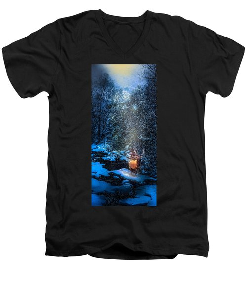 Elk Creek Men's V-Neck T-Shirt